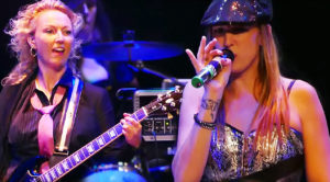 All Girl AC/DC Cover Band Plays 'T.N.T.,' And It Would Make Angus Young Smile From Ear To Ear!