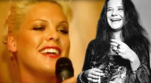 "Pink Pays Tribute To Janis Joplin With ""Mercedes Benz"" Tribute—Her Voice Is Perfect!"
