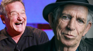 Robin Williams' Hilarious Impression Of Keith Richards Is Too Good For Words!