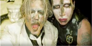 "Marilyn Manson Premieres ""SAY10"" Starring Johnny Depp"