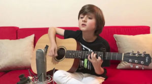 "9 Year-Old Boy Covers ""Wish You Were Here"" So Well, It Would Make David Gilmour Proud"