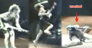 Angus Young Drinks 14 Cups of Coffee, Grabs and Guitar, And This Is The Result…