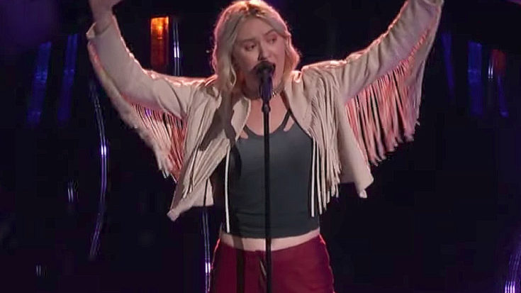 "She Stuns With Fleetwood Mac's ""The Chain""- This Girl Must Have Used A Time Machine To Get Here 