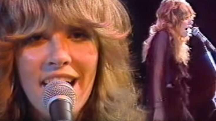 "28-Year-Old Stevie Nicks Crashes Late Night TV And Absolutely Slays ""Rhiannon"" 