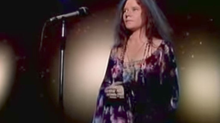 We Dare You To Watch Janis Joplin's Most Vulnerable Performance Without Getting Choked Up | I Love Classic Rock Videos