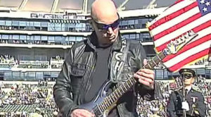 Joe Satriani Is Asked To Perform The National Anthem – He Then Leaves This Audience Stunned
