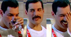 "Freddie Mercury Reacts To Kanye West Trying To Sing ""Bohemian Rhapsody"""