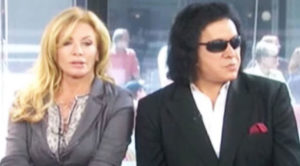 Things Get Awkward When Gene Simmons' Wife Sees Something She Wasn't Supposed To…