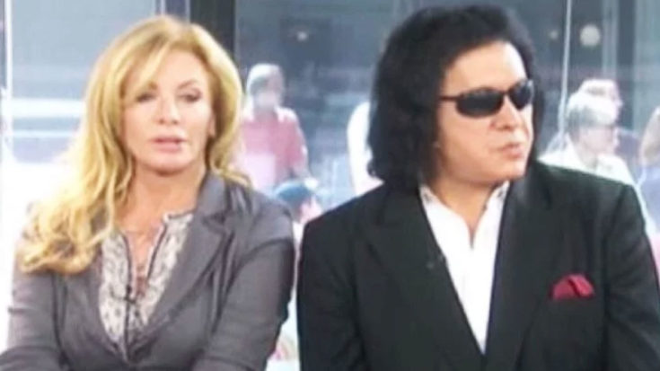 Things Get Awkward When Gene Simmons' Wife Sees Something She Wasn't Supposed To… | I Love Classic Rock Videos
