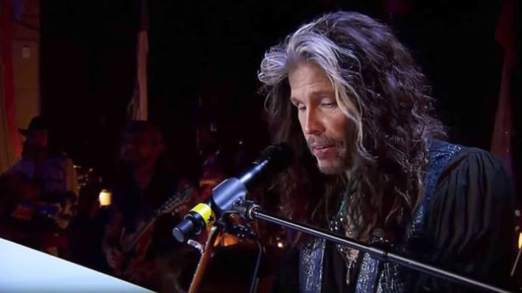 "Steven Tyler Puts A Laid Back Twist To ""Dream On"" That You're Going To Absolutely Adore… 