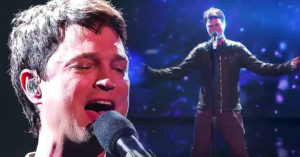 """X Factor Contestant Channels Steve Perry With """"Open Arms""""- So Powerful You Can Feel It"""