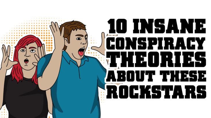 10 Insane Rockstar Conspiracy Theories | I Love Classic Rock Videos