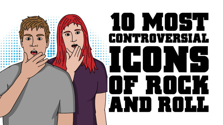 10 Most Controversial Icons of Rock 'n Roll | I Love Classic Rock Videos