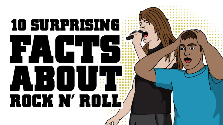 10 Surprising Facts About Rock and Roll | I Love Classic Rock Videos
