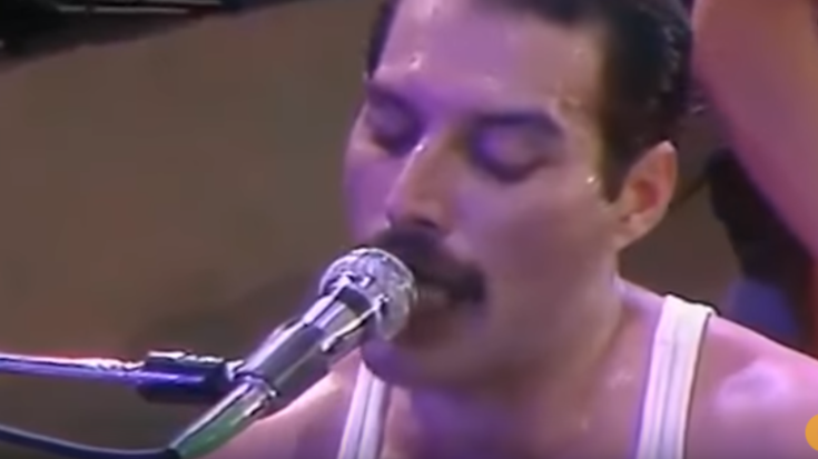 """""""We Are The Champions"""" Without The Background Music is Pure Awesome 
