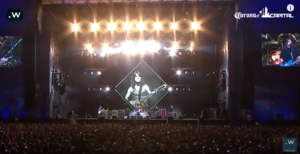 See FOO FIGHTERS' Live Tribute to AC/DC's MALCOLM YOUNG