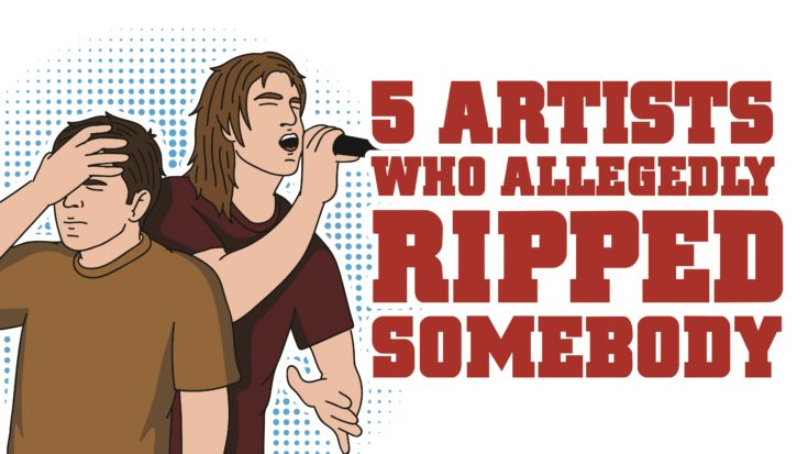 5 Artists Who Allegedly Ripped Somebody | I Love Classic Rock Videos