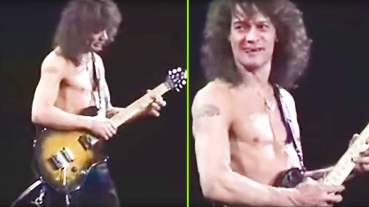Eddie Van Halen Leaves Crowd With Their Jaws On The Floor After Ripping Impossible Guitar Solo! | I Love Classic Rock Videos