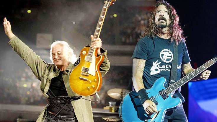 Foo Fighters, Jimmy Page And John Paul Jones Team Up For Once In A Lifetime Performance | I Love Classic Rock Videos