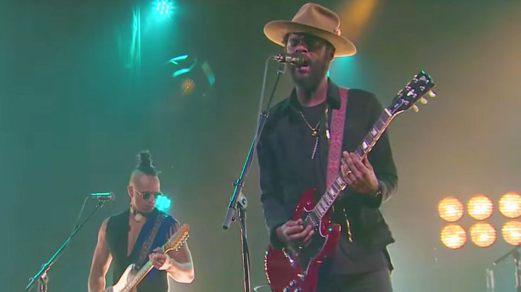 Gary Clark Jr. Crashes 'Late Late Show' For High-Octane Cover of The Beatles' 'Come Together' | I Love Classic Rock Videos