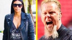James Hetfield Had Some Harsh Words For Kim Kardashian Wearing A Metallica T-Shirt