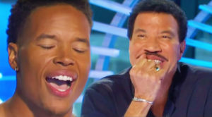 NFL Star Auditions For American Idol, And Stuns Judges With His Phenomenal Voice!