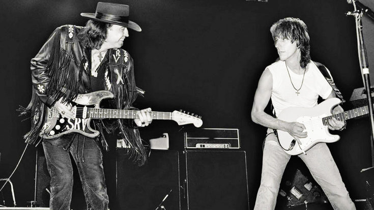RARE: Stevie Ray Vaughan And Jeff Beck Exchange Mind-Blowing Blues Solos In Legendary Duet! | I Love Classic Rock Videos