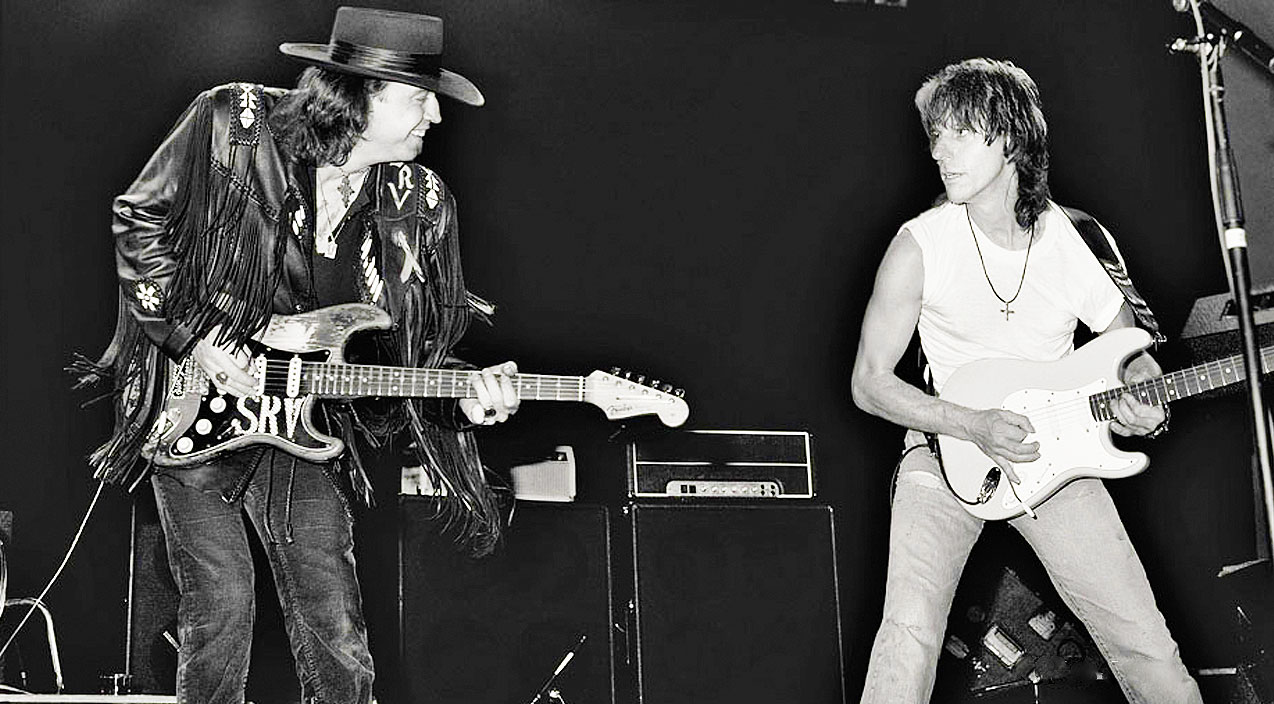 RARE Stevie Ray Vaughan And Jeff Beck Exchange Mind