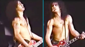 Things Get Awkward When Slash Messes Up A Guitar Intro In Front Of Thousands Of People…