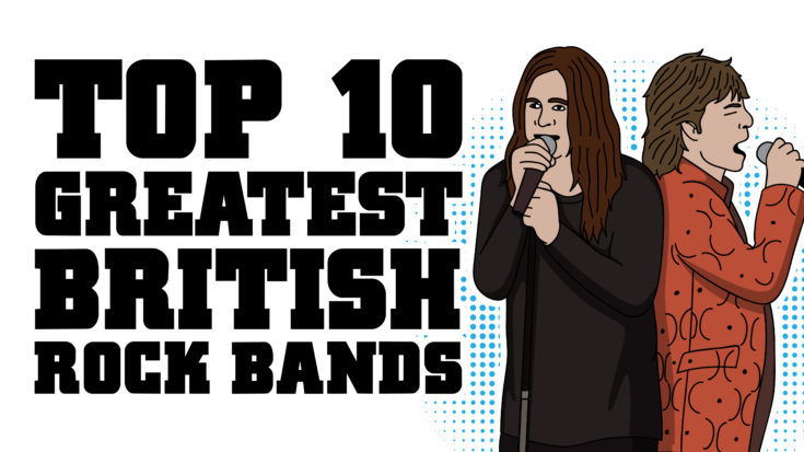 Top 10 Greatest British Rock Bands | I Love Classic Rock Videos