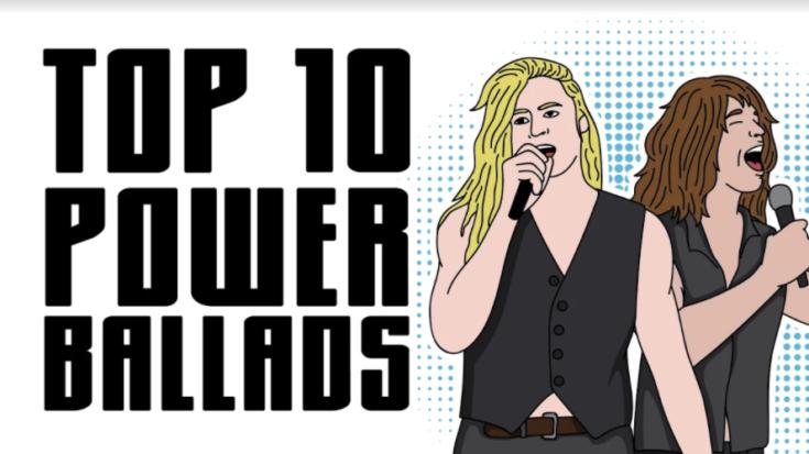 Top 10 Power Ballads | I Love Classic Rock Videos