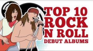 Top 10 Rock 'n Roll Debut Albums