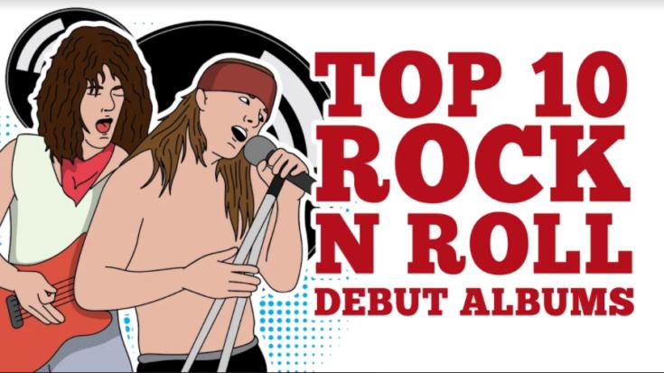 Top 10 Rock 'n Roll Debut Albums   I Love Classic Rock Videos
