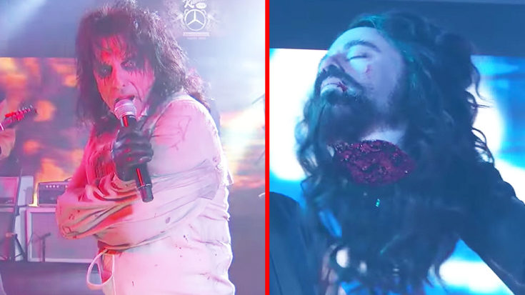 Alice Cooper & The Foo Fighters Took Over Jimmy Kimmel Halloween Night, &, Well, Things Got Wild… | I Love Classic Rock Videos