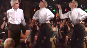'Law & Order' Star Challenged To Dance Off, Schools Everyone With Epic Mick Jagger Dance Moves