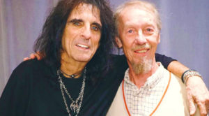 Alice Cooper Says Sweet Farewell To Former 'World Class' Bandmate Who Died Last Week