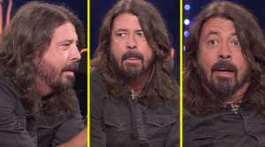 In This Interview, Dave Grohl Gets The Surprise Of A Lifetime – His Reaction Is Priceless!