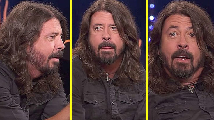 In This Interview, Dave Grohl Gets The Surprise Of A Lifetime – His Reaction Is Priceless! | I Love Classic Rock Videos
