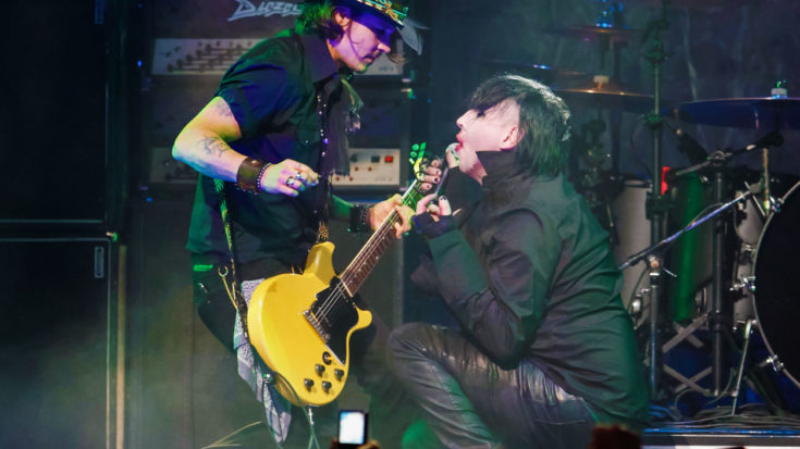 """If You Haven't Heard Marilyn Manson And Johnny Depp's Cover Of """"You're So Vain,"""" You're So Missin' Out 