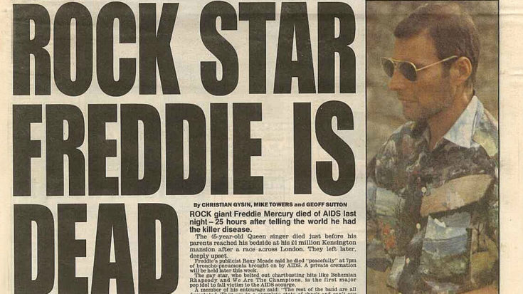 November 24, 1991: Freddie Mercury Dies At 45, And Takes A Piece Of Us With Him | I Love Classic Rock Videos