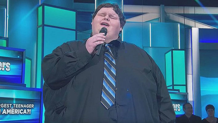 640 lb. Teenager Belts Out 'Amazing Grace' With Ease On Crude TV Show | I Love Classic Rock Videos