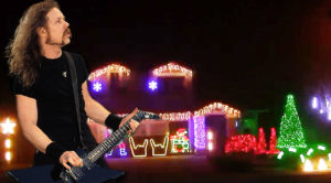 Rock Fans Are Gonna Love How These Christmas Lights Are Synchronized To Metallica