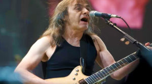 "Flashback To Malcolm Young's Career Defining Final Performance Of ""For Those About To Rock"""