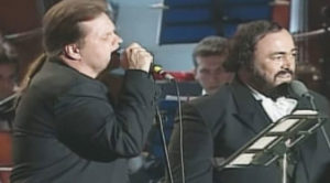 Worlds Collide As Meat Loaf Teams With Luciano Pavarotti For A Duet That'll Leave You Speechless