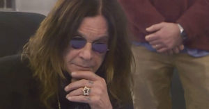 "Ozzy Osbourne Hears ""Crazy Train"" Master Tape For The First Time, And Can't Believe His Ears"
