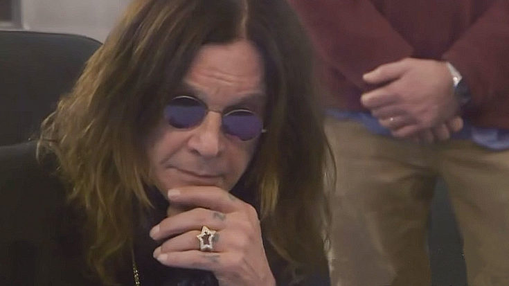 "Ozzy Osbourne Hears ""Crazy Train"" Master Tape For The First Time, And Can't Believe His Ears 