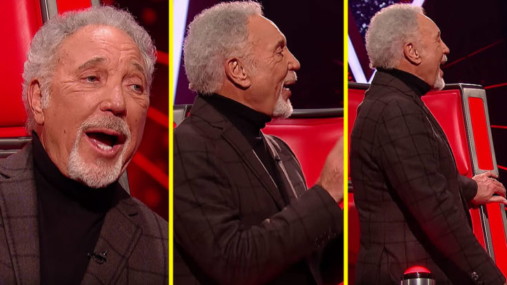 """Tom Jones Steals The Show On 'The Voice' When Out Of The Blue He Gets Up And Belts Out """"Great Balls Of Fire"""" 