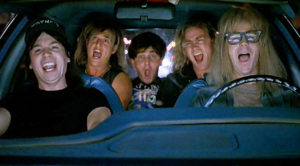 "'Wayne's World""s Iconic ""Bohemian Rhapsody"" Scene Still Rocks After 26 Years – Party On!"