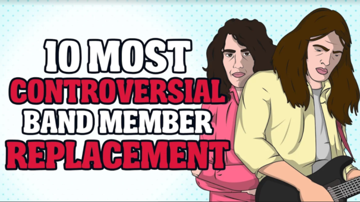 10 Most Controversial Band Member Replacement | I Love Classic Rock Videos