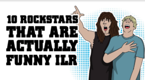 10 Rockstars Who Are Actually Funny IRL